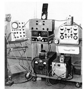 Figure 9. Older generation vibration laboratory equipment (1950s).