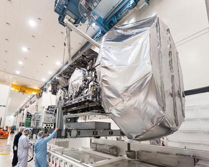 MUOS Satellite Completes Thermal Vacuum Testing