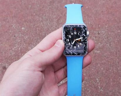Apple Watch Fails Drop Test